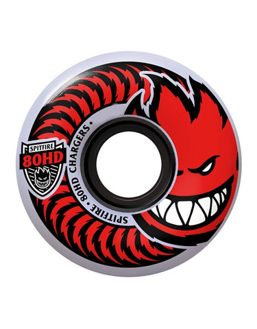 Spitfire Classic Chargers Wheels Clear 80HD/58mm