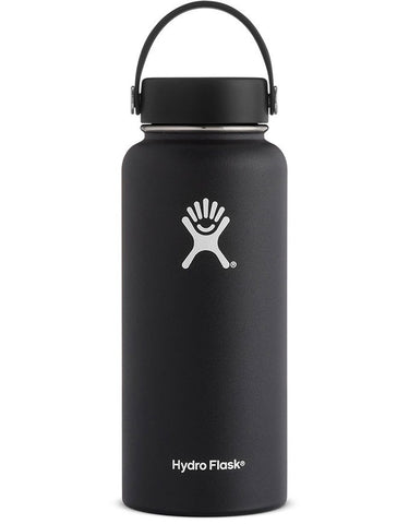 Hydro Flask 32oz Wide Black