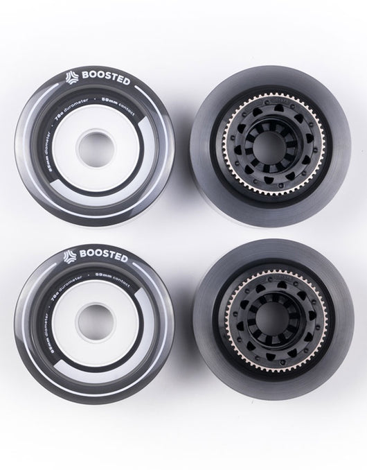 Boosted Stratus 85mm Full Set | Grey