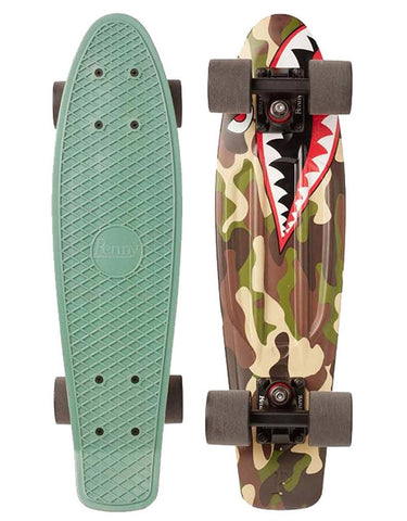 Penny Nickel Cruiser Shark Bomber | 27""