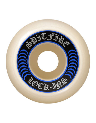 Spitfire F4 Wheels Lockin Natural | 99D/52mm