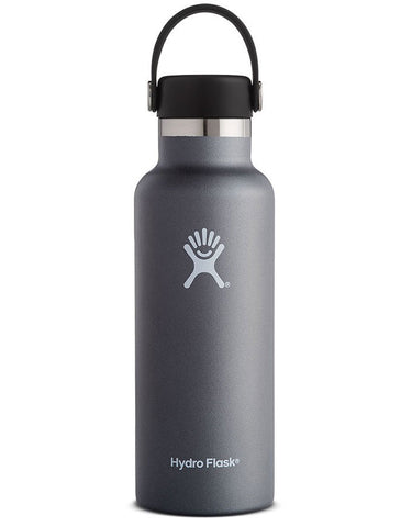 Hydro Flask 18oz Standard Mouth Graphite