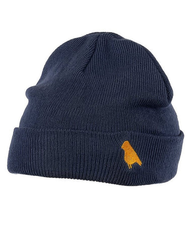 Yuki Threads Bird Beanie | Navy