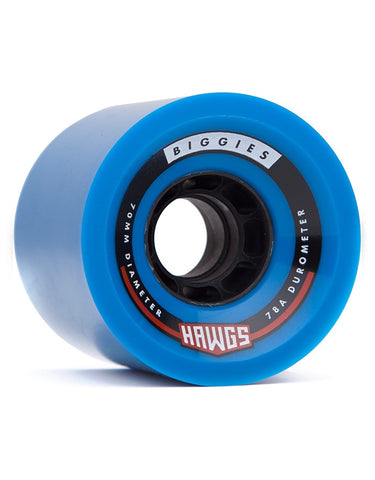 Hawgs Biggie Wheels Blue | 70mm/78a