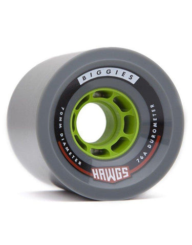 Hawgs Biggie Wheels Grey | 70mm/76a