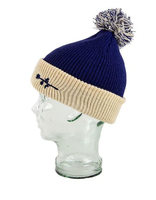 Blak Rose Beanie Navy Blue