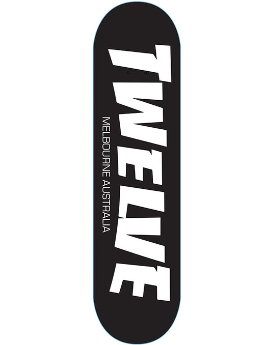 Twelve Thrash Melbs Deck Black