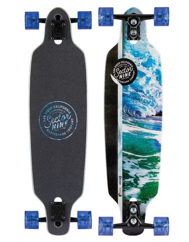 Sector 9 Flux Mini Fractal Longboard 34""