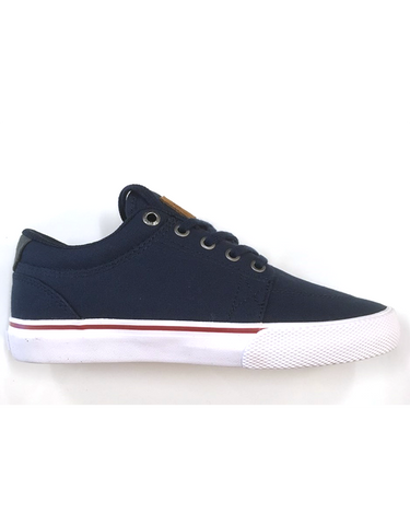 Globe GS Kids Shoe | Navy/White/Red