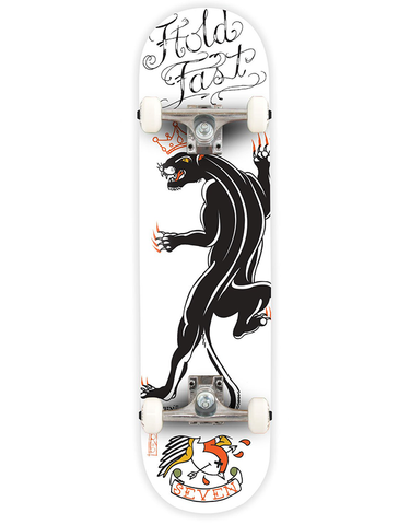 Seven Tattoo Panther Complete Skateboard | 7.8""