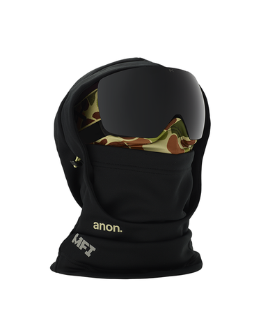 Anon MFI Hooded Mens Balaclava Duck Camo Black