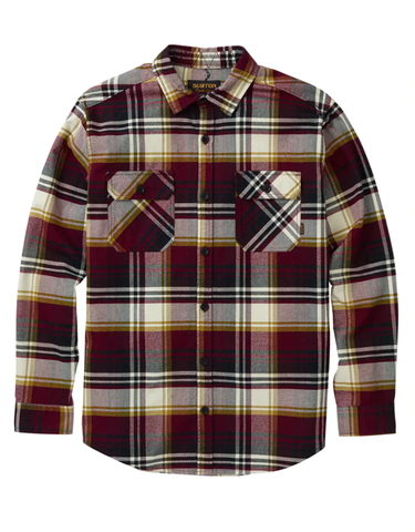 Burton Brighton Flannel | Royal Stump Plaid