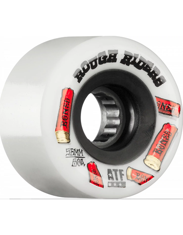 Bones ATF  Rough Riders White Wheels 56mm 80a
