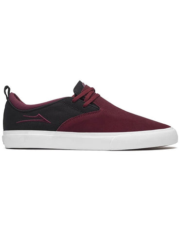 Lakai Riley Hawk 2 Shoe | Burgundy/Black Suede