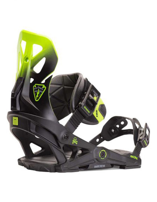 NOW Brigade Snowboard Binding 2020 | Black/Green