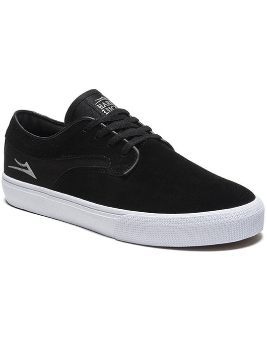 Lakai Riley Hawk Shoe Black Suede