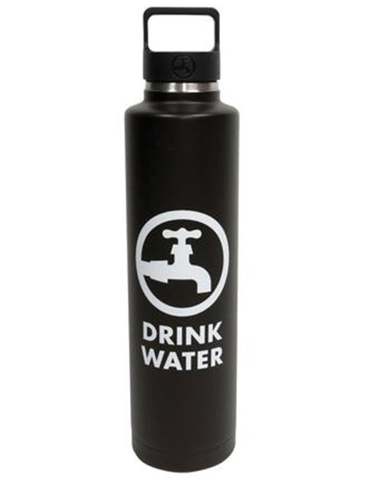 Drink Water 24oz Insulated Bottle Black