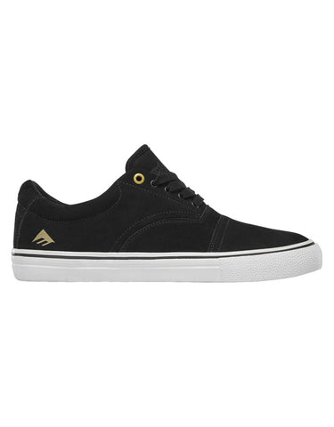 Emerica Provider Shoe | Black/White/Gold