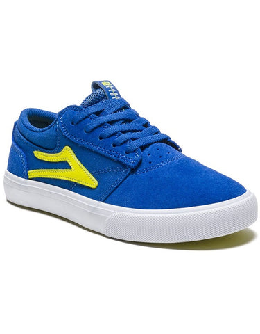 Lakai Griffin Kids Shoe Blue/Yellow Suede