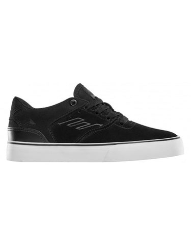 Emerica The Reynolds Low Vulc Youth | Black/White/Gum
