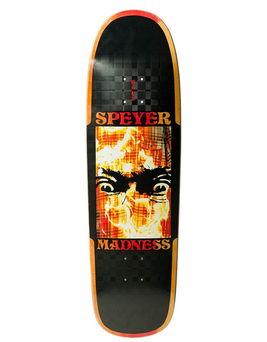 Madness Speyer Fire Flannel R7 Deck | 9.125""