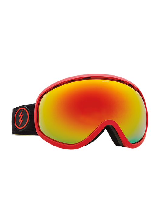Electric Masher Goggle | Black/Red