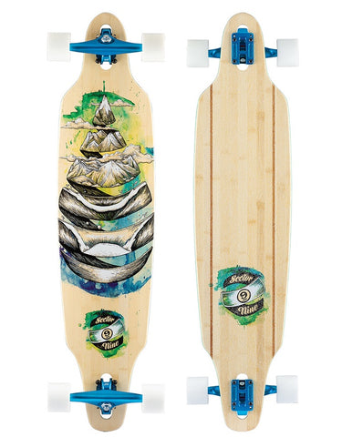 Sector 9 Droplet Lookout Longboard | 41.125""