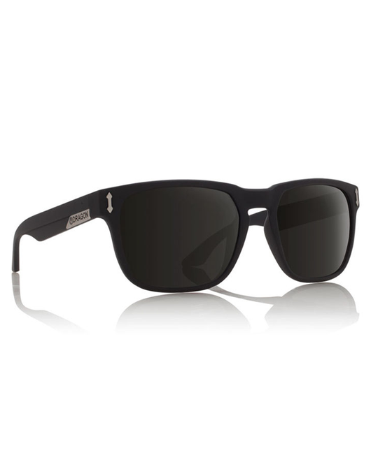 Dragon Monarch Sunglasses Jet/Grey Polarized Lens