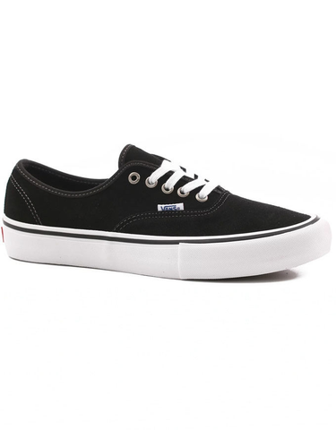 Vans Authentic Pro Shoe | Black/Suede