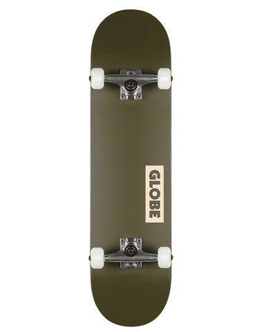 Globe Goodstock Complete Fatigue Green | 8.25""