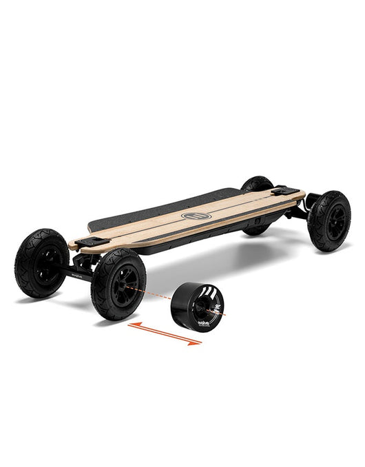Evolve Bamboo GTR Electric Skateboard | 2 in 1