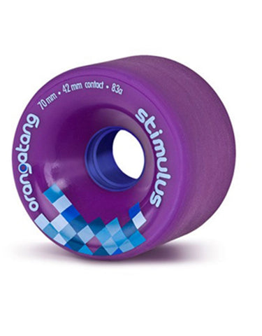 Orangatang Stimulus 70mm/83a | Purple