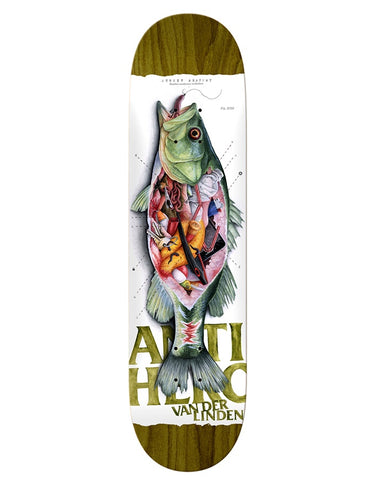 Anti Hero Straight Anatomy Daan Deck | 8.25""