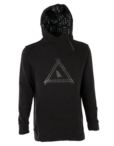 Yuki Threads DWR Ronin Shred Hoodie | Black