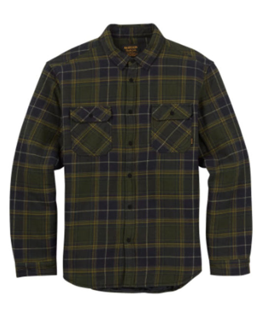Burton Brighton Insulated Flannel Forest Night Rowan Plaid