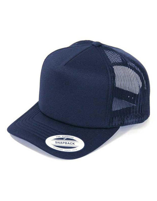 Flexfit Hi Crown Trucker | Navy