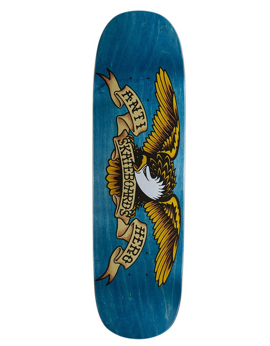 Anti Hero Shaped Eagle Deck Blue 8.5""