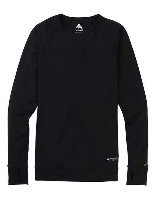 Burton Women's Lightweight Base Layer Crew | True Black