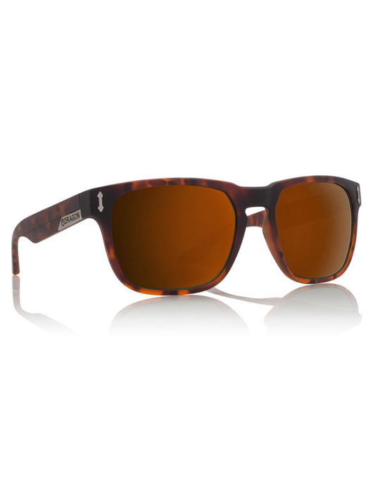Dragon Monarch Sunglasses Matte Tortoise/Bronze Polarized Lens