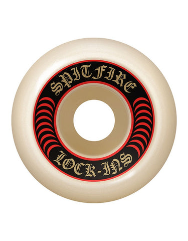 Spitfire F4 Wheels Lockin Natural | 101D/52mm