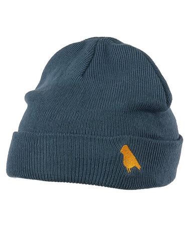 Yuki Threads Bird Beanie | Storm Blue