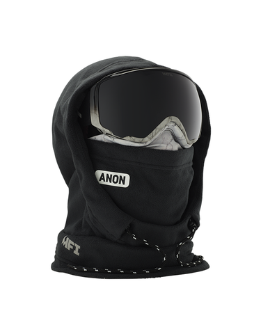 Anon MFI XL Hooded Womens Balaclava Marble Black