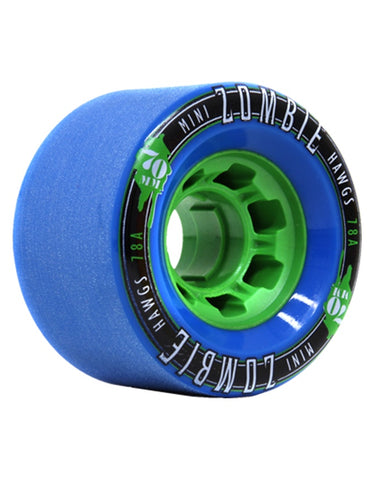 Hawgs Mini Zombies Wheels Blue | 70mm/78a