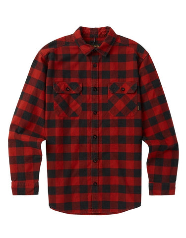 Burton Brighton Flannel | Bitters Heather Buffalo Plaid