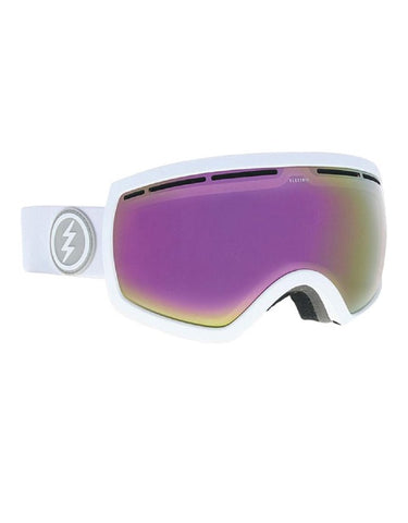 Electric AF EG2.5 Goggle Matte White | BRose/Pink Chrome