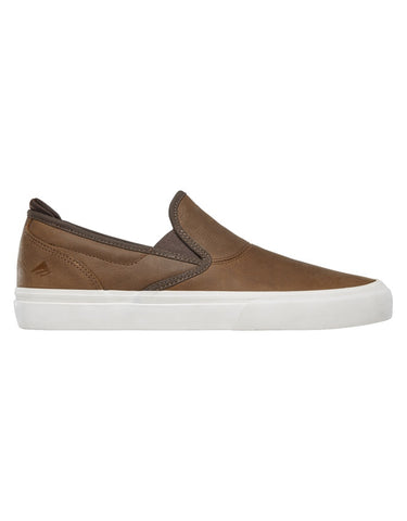 Emerica Wino G6 Slip On Shoe | Brown