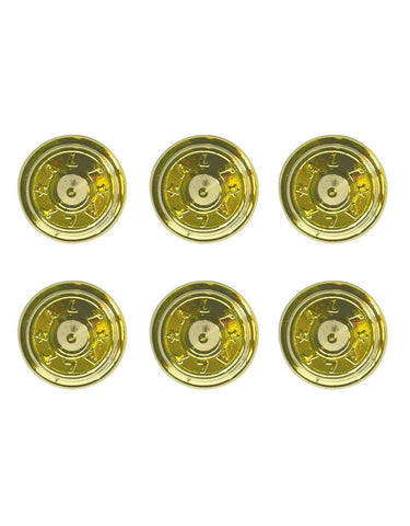 Anticorp Round Studs Gold Anodised