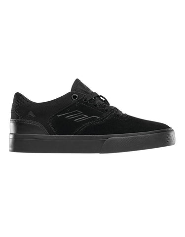 Emerica The Reynolds Low Vulc Youth | Black/Blk/Blk