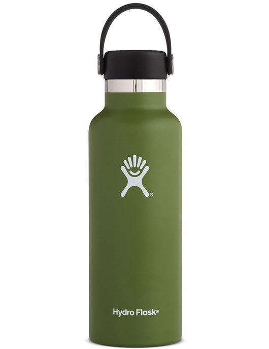 Hydro Flask 18oz Standard Mouth Olive