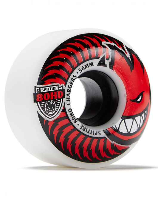Spitfire Classic Charger Wheels 56mm/80a | Red